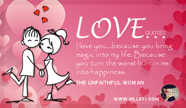 LI love you...Because