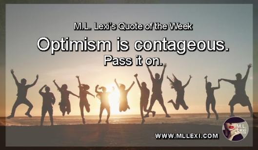 zusedoptimism is contageous