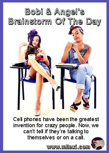 27Cell phones have been