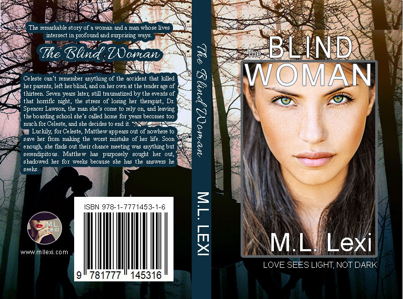 The Blind Woman Cover Design