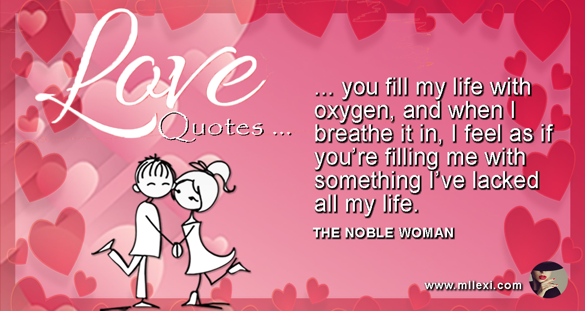 85You fill my life with oxygen WP